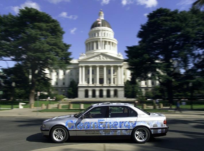 BMW CleanEnergy in Sacramento / Kaliforniens Umweltminister setzt auf Wasserstoff