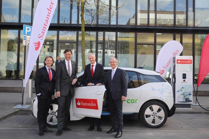 Santander macht e-mobil