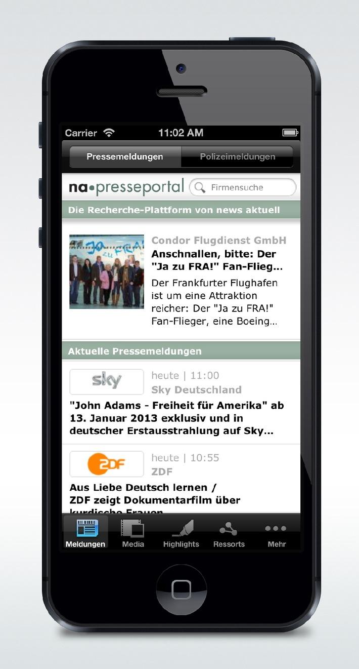 Fast jeder fünfte Zugriff erfolgt mobil - news aktuell baut Reichweite im Web und bei Apps aus
