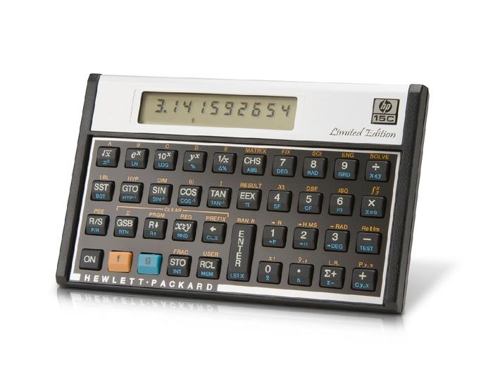 HP 15c: Der Taschenrechner-Klassiker ist wieder im Handel / Internet-Plattform hp4calc.ch startet Vorverkauf für den Schweizer Markt