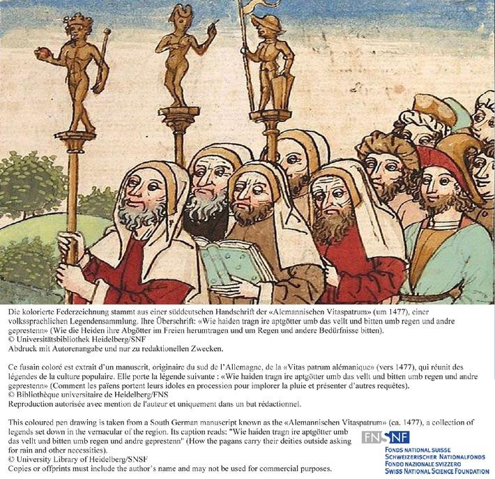 SNF: Bild der Forschung Oktober 2010: Christen und Heiden im Mittelalter