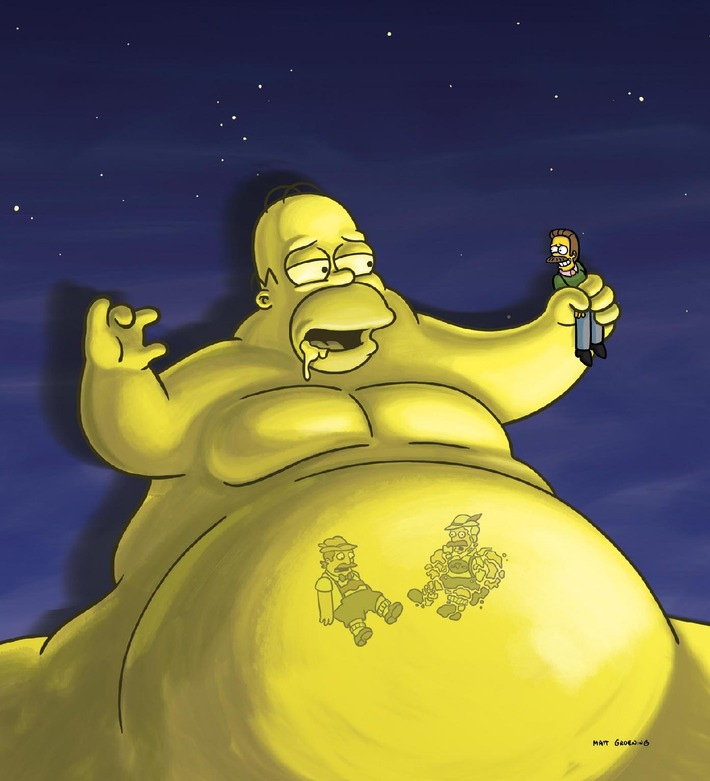 Krieg der Welten bei den Simpsons