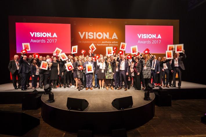VISION.A Awards 2017 feierlich in Berlin verliehen
