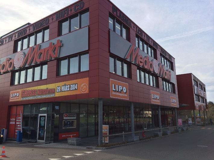 Die Expansion geht weiter: Am 29. März 2014 eröffnet LIPO den 16. Einrichtungsmarkt in Muri bei Bern