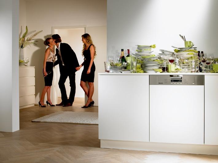 Miele stellt zur IFA extrem sparsame Geschirrspüler vor / Nur acht Liter Wasser für einen Berg von Geschirr