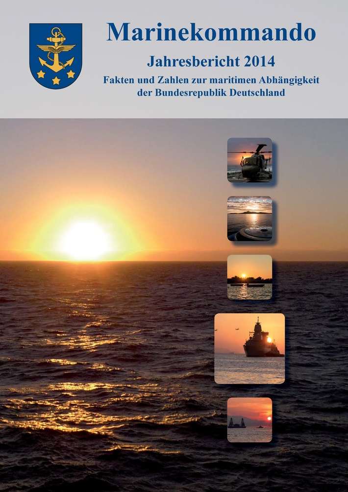 Bericht zur maritimen Abhängigkeit der Bundesrepublik Deutschland Inspekteur der Marine stellt Jahresbericht 2014 vor