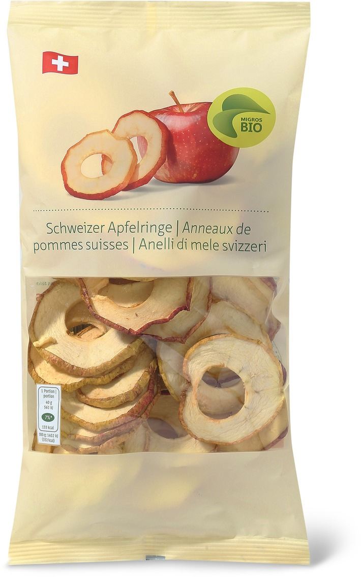 Migros ruft Bio Schweizer Apfelringe zurück