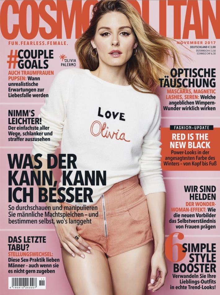 "Stilikone Olivia Palermo in Cosmopolitan: ""Klar style ich mich selbst!"""