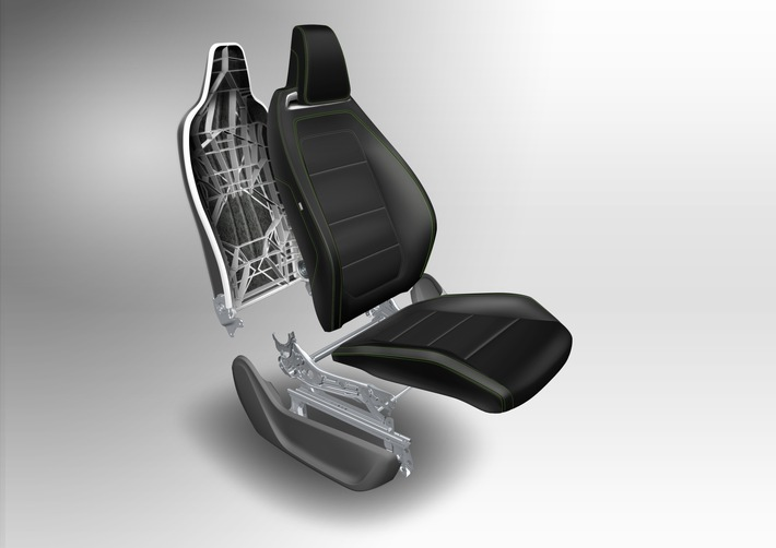 New seating technologies: the future of lightweight engineering / IAA 2015: Johnson Controls helps cut emissions
