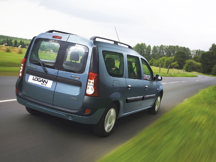 Chiffres de ventes 2007: Dacia progresse de 125 % en Suisse