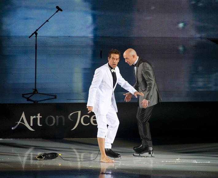 Mick Hucknall von Simply Red - Ein Weltstar für Art on Ice