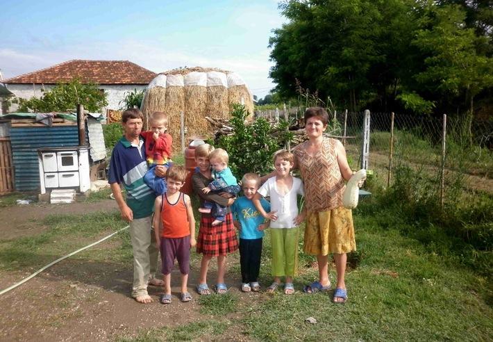 Saatgut für Osteuropa - Pro Adelphos hilft bedürftigen Familien