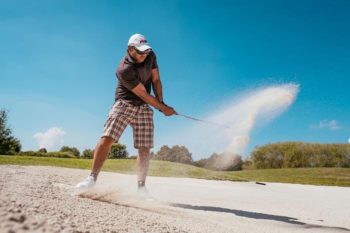 """BLOGPOST Pierre Geisensetter auf dem PR-Golfcup: """"Golfspielen ist nicht wie Fahrradfahren"""""""