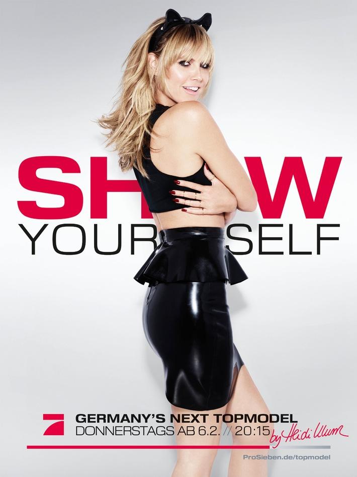 Show Yourself! Starfotograf Rankin macht Heidi Klum zur Catwoman