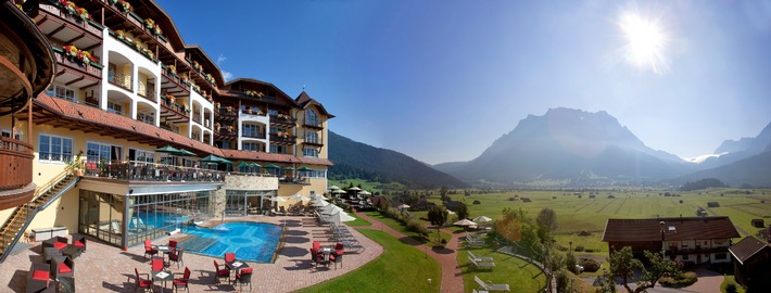 Hotel Post Lermoos, Tirol, gewinnt European Health & SPA-Award 2014 - BILD