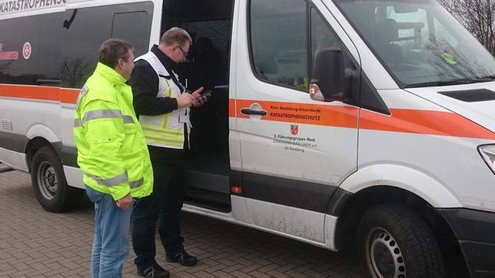 RKiSH: Größeres Notfallereignis (GröNo): Reizgasaustritt in Gettorfer Schule / 5 Patienten im Krankenhaus / Großaufgebot an Rettungskräften vor Ort