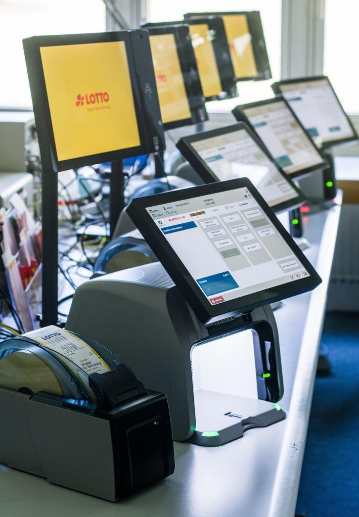 Neue Lotto-Terminals für Annahmestellen in Baden-Württemberg
