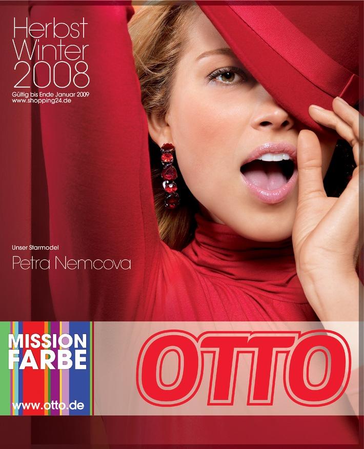 """""""Setzt Akzente!"""" - Petra Nemcova ist das neue Starmodel von OTTO"""