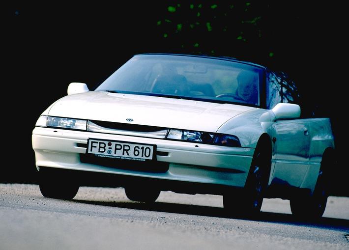 25 Jahre Subaru SVX: Japanischer Gran Turismo mit italienischen Genen