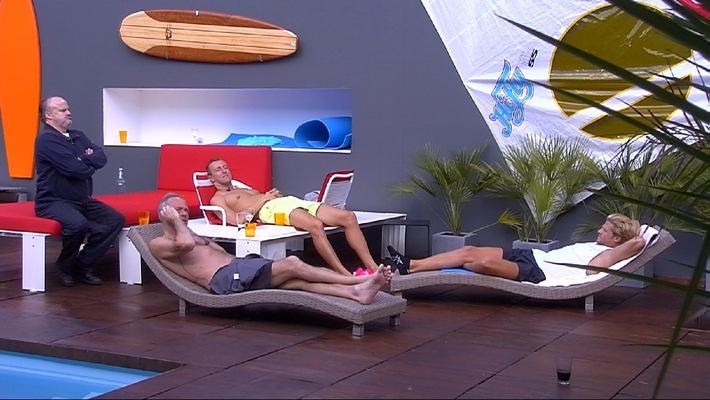 """Ronald Schill, Paul Janke und Mario-Max Prinz zu Schaumburg-Lippe - die Luderexperten! """"Promi Big Brother"""" heute 22:15 Uhr in SAT.1"""