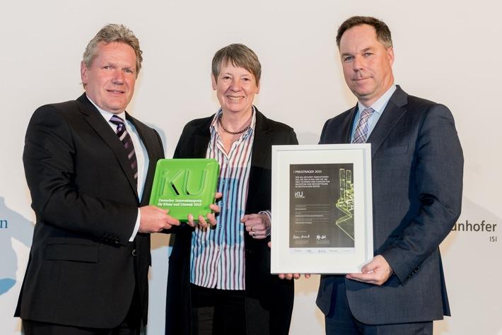 Bundesumweltministerium und BDI prämieren längstes Supraleiterkabel der Welt / RWE gewinnt für AmpaCity den IKU Innovationspreis 2015