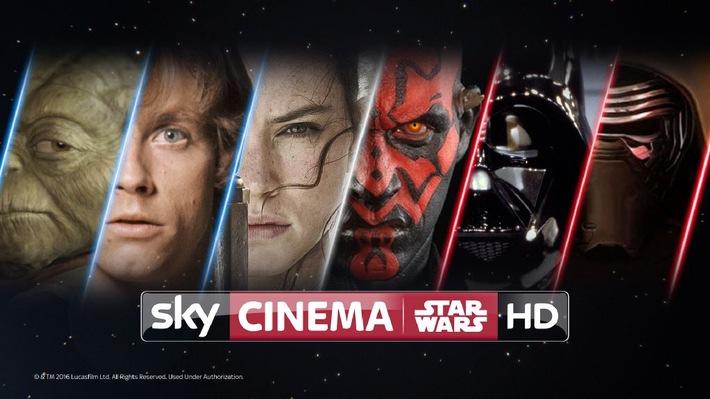 """Die Macht ist wieder mit Sky: """"Sky Cinema STAR WARS  HD"""" im Oktober"""