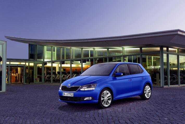 Neuer SKODA Fabia feiert am 15. November Premiere in deutschen Autohäusern