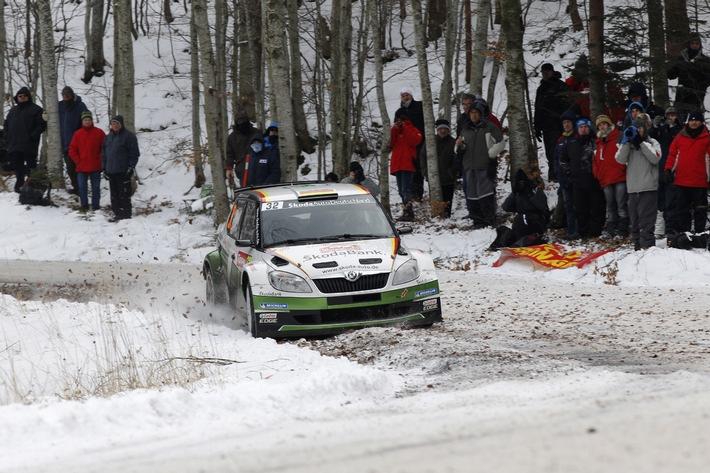 Sepp Wiegand nach Tag eins der 'Monte': Führung in der WRC 2-Wertung