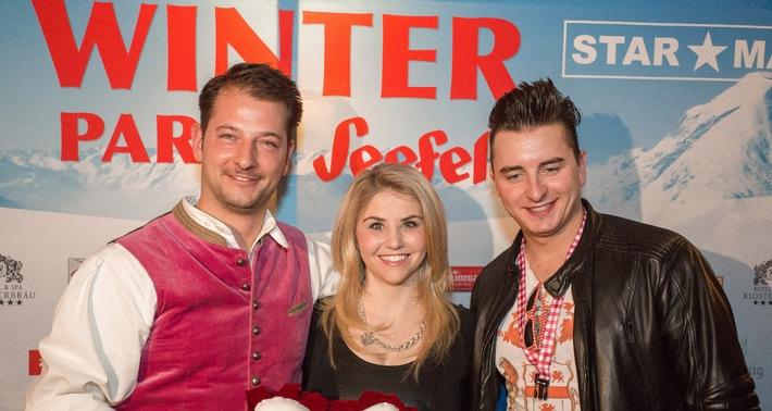 Topstar Andreas Gabalier, Beatrice Egli und voXXclub begeisterten bei der Winterparty Seefeld