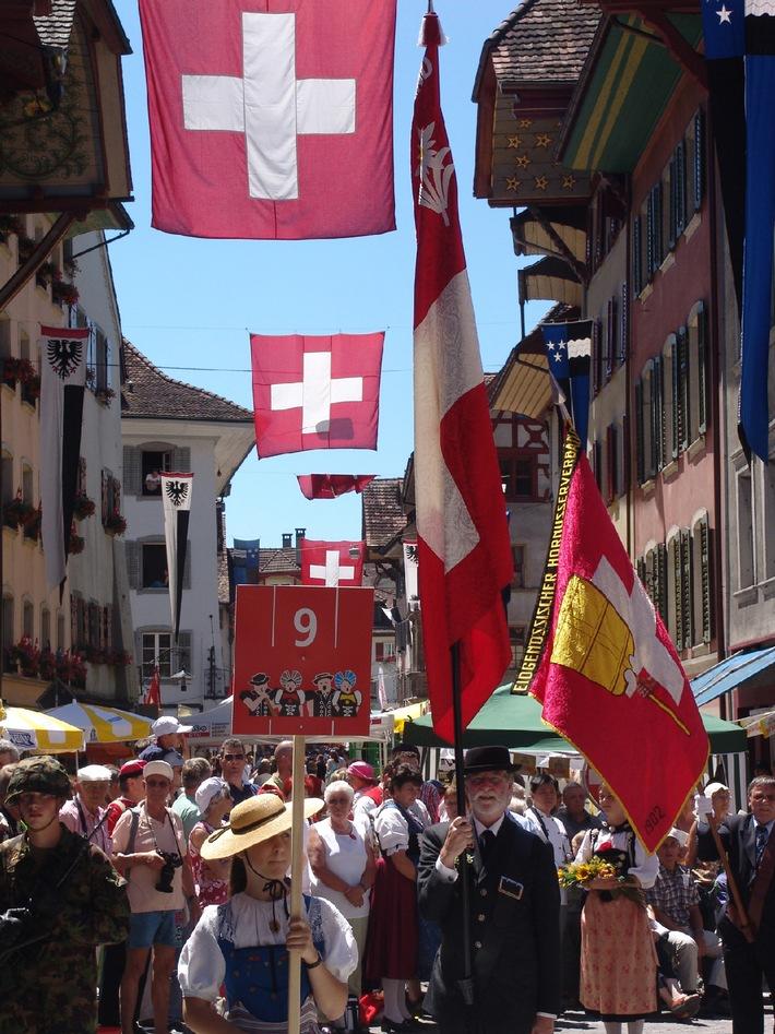 Aarau feiert: 100 Tage nach dem Eidgenössischen Jodlerfest