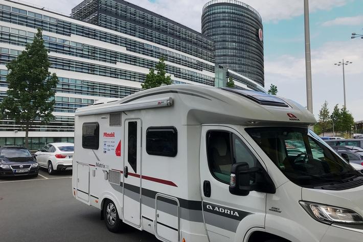 Caravan  Salon 2017: So wird das Wohnmobil zum High-Tech Camper