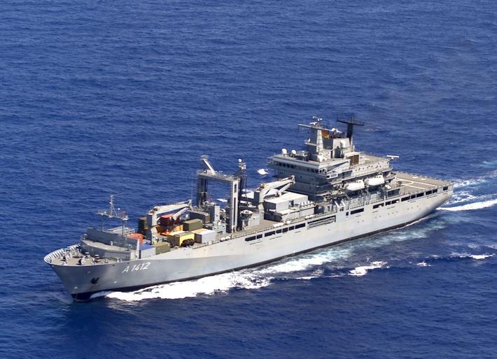 Marine - Pressemeldung / Pressetermin: Klar für den Einsatz