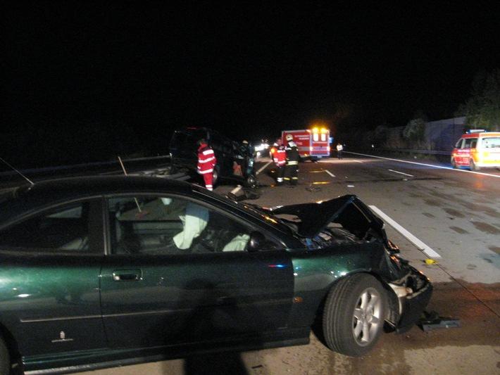 POL-HI: BAB 7, AS Drispenstedt -- 33jähriger Hildesheimer verunglückt tödlich beim Verkehrsunfall auf der BAB 7