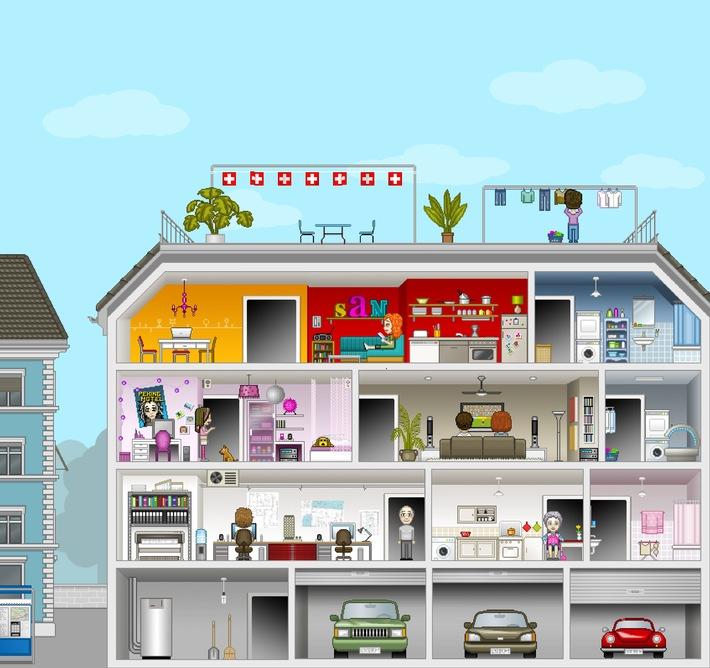 AES: Idée de jeu lumineuse sur www.avenirelectricite.ch