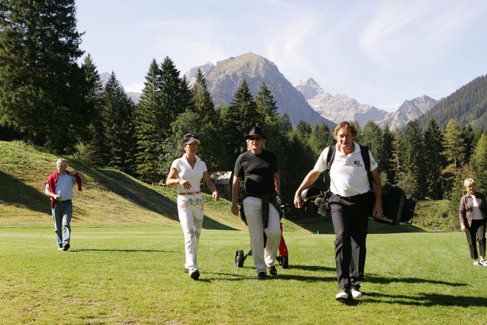 Golf the mountains - Franz Klammer Charity Event, 11.9. im Brandnertal - BILD