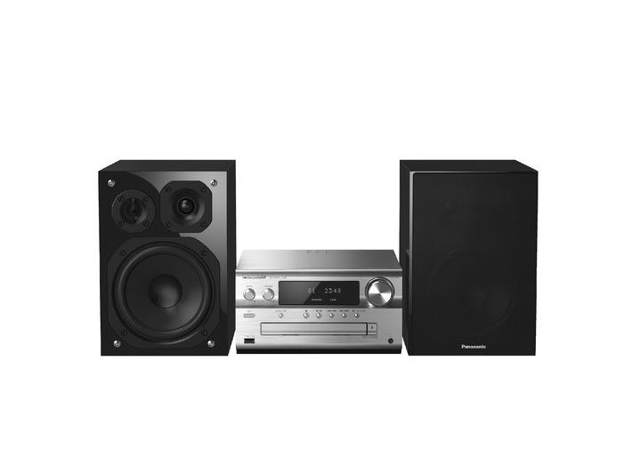 Panasonic ALL Connected HiFi System SC-PMX100B und Micro HiFi System SC-PMX70B / Die perfekte Kombination von High Resolution Audio und smarten Verbindungen