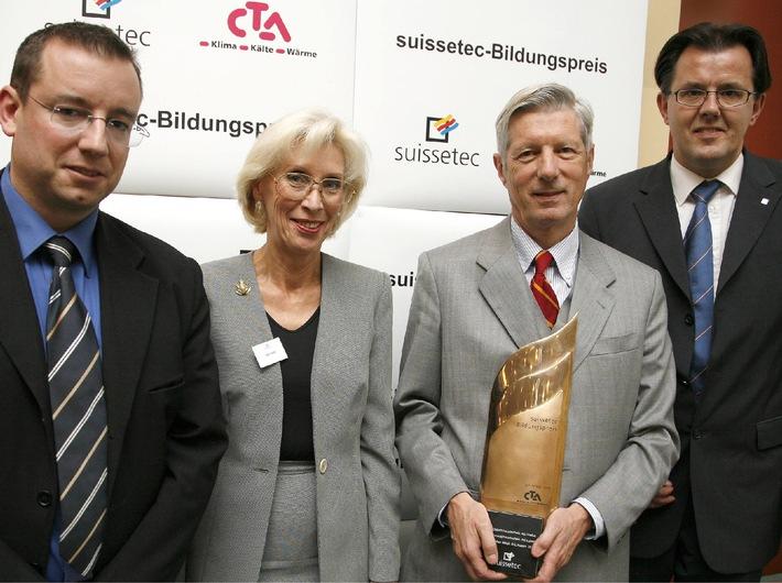 "suissetec-Bildungspreis 2006 geht ins ""Ländle"""