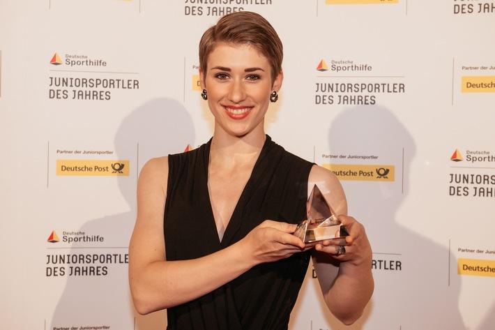"""Bahnrad-Junioren-Weltmeisterin Pauline Grabosch ist """"Juniorsportlerin des Jahres"""""""
