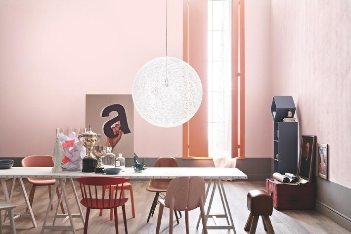 SCHÖNER WOHNEN-KOLLEKTION präsentiert Farbtypologie: Klare Farben für Mutige und Pastellfarben für sonnige Gemüter