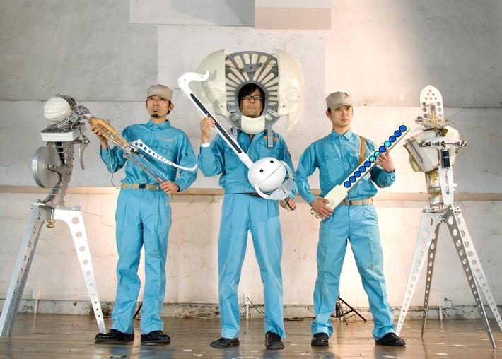 Il Percento culturale Migros presenta la fabbrica delle macchine nonsense  Concerti e workshop del gruppo di culto giapponese Maywa Denki (JP)