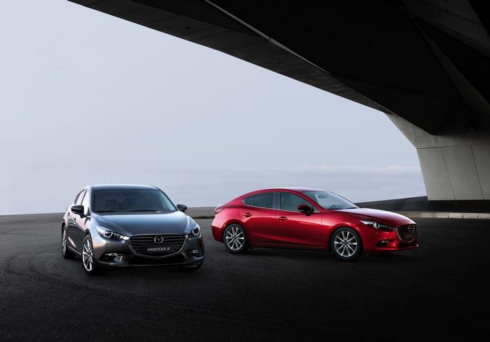 Umfassende Aufwertung für den Bestseller Mazda3