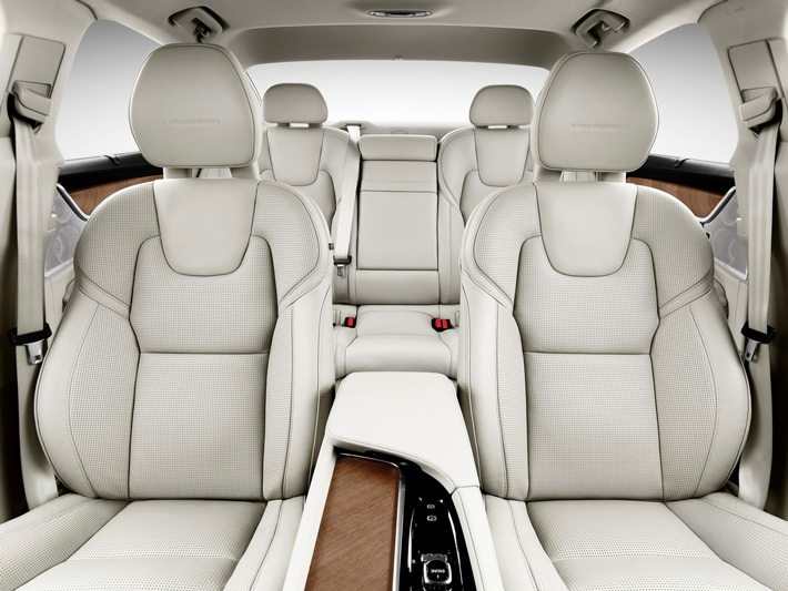 Johnson Controls brings comfort and luxury to the new Volvo S90 / Seating expertise for luxury-class sedan