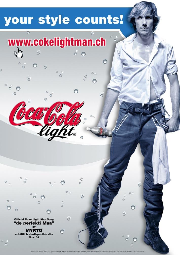 La Suisse élit le Coke light Man 2004