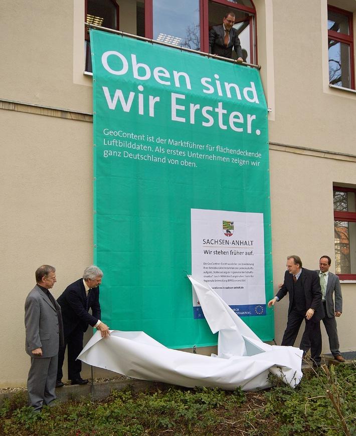 """Haseloff zeichnet """"Erfolgsgeschichten - made in Sachsen-Anhalt"""" aus: Großflächenplakate würdigen landesweit Spitzenleistungen"""