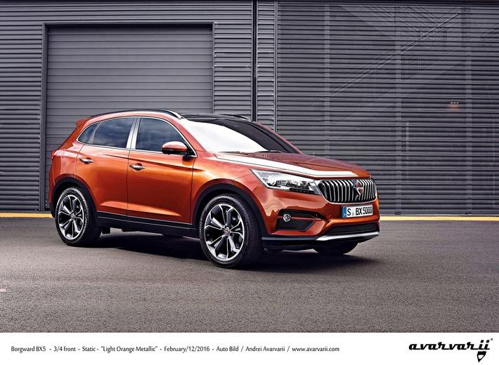 AUTO BILD exklusiv: Borgward präsentiert zweiten SUV
