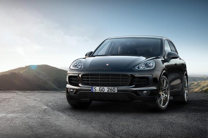 Porsche erweitert Platinum Edition um zwei Cayenne S-Modelle