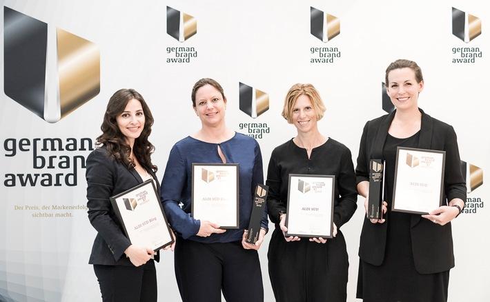 ALDI SÜD holt zwei Mal Gold beim German Brand Award 2017