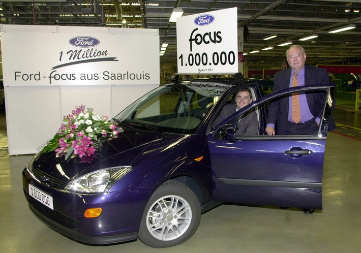 Eine Million Ford Focus Made in Germany