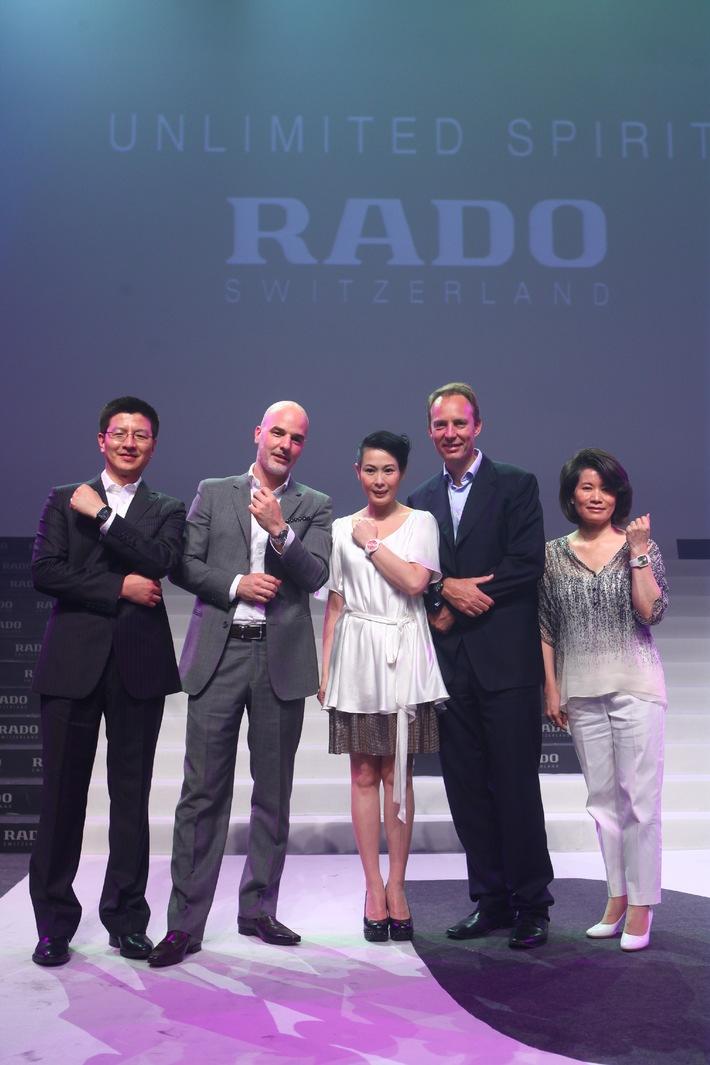 RADO Switzerland: Brand Ambassador Pressekonferenz 2010
