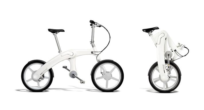 Weltneuheit auf Eurobike 2012: Faltbares und kettenloses E-Bike mit seriellem Hybrid-Antrieb  / Mando Footloose - E-Bike mit Automobil-Know-how